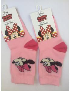 Носки розовые для девочек дисней Минни